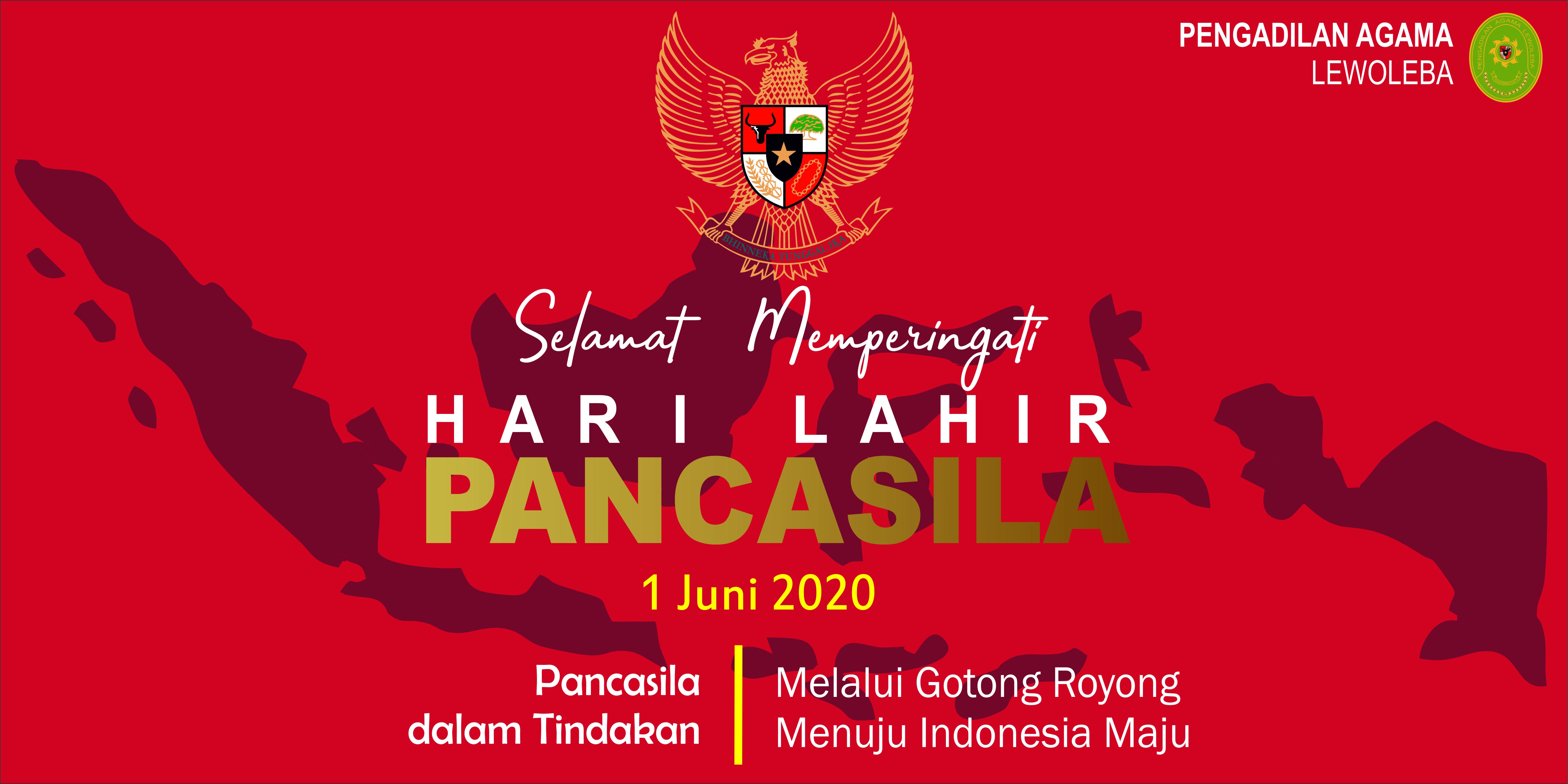 Ucapan Selamat Hari Lahir Pancasila 1 Juni 2020